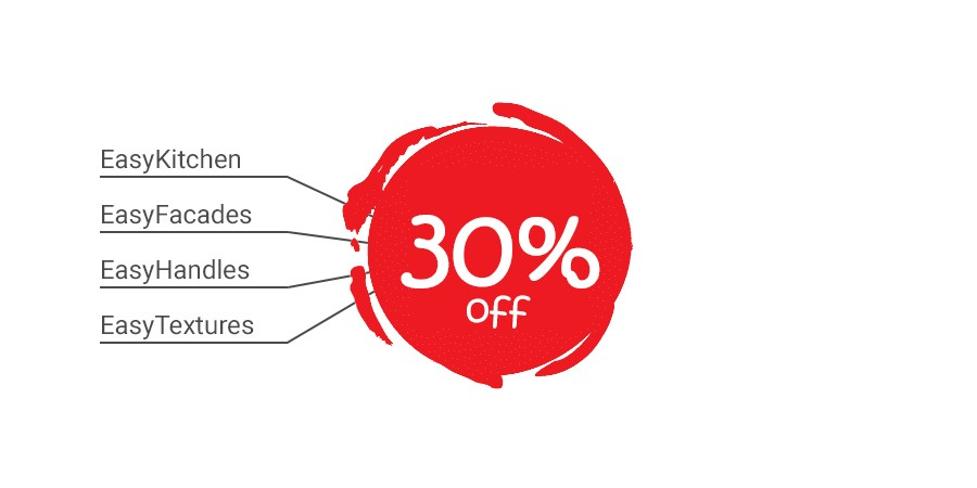 30% discount on everything!