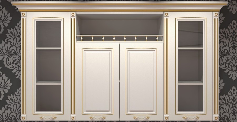 Updated facades, pilasters and more!