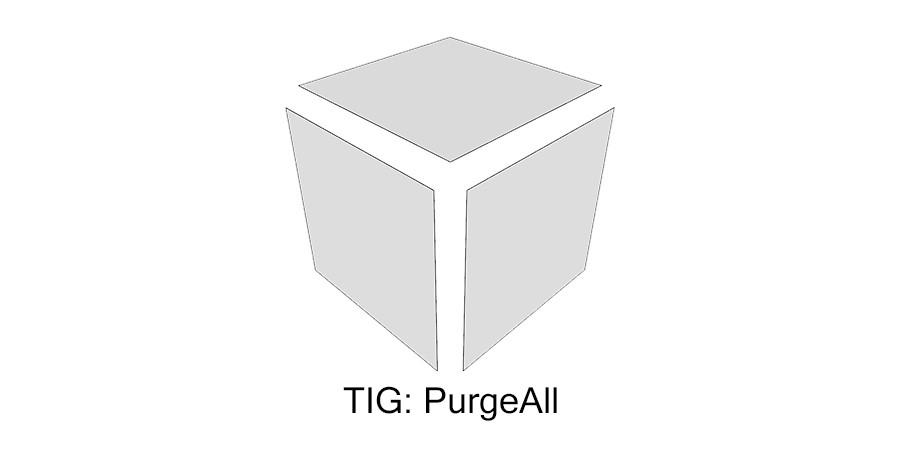 Purge All - очищаем проект